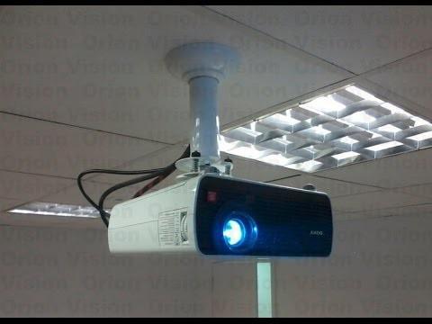 Instalação de projetor