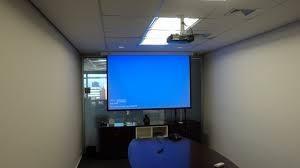 Instalação de projetores grande sp