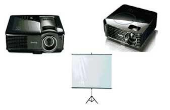 Instalação de projetores multimídia