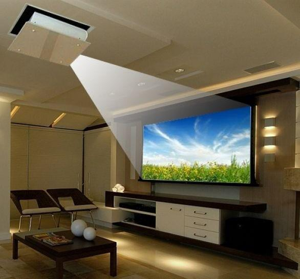 Instalação de projetores sp