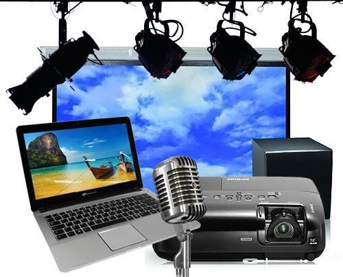 Soluções audiovisuais