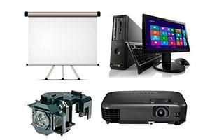 Venda de equipamentos audiovisuais